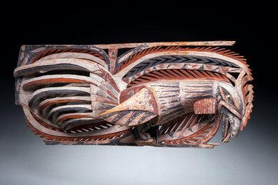 Oceanic Art, 'Malagan Frieze, New Ireland, Papua New Guinea, New Guinea Art, Oceanic Art, Tribal Art, South Pacific', late 19th century