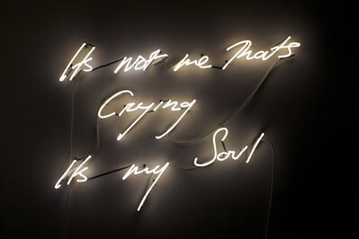 Tracey Emin, 'Its Not me Thats Crying its my Soul', 2011