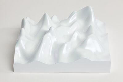 Peter Saville, 'Unknown Pleasure, Irodin 225, Rutile blue pearl on white background ', 2015