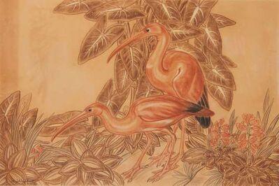 Gaston Suisse, 'Pink Ibis', 1931