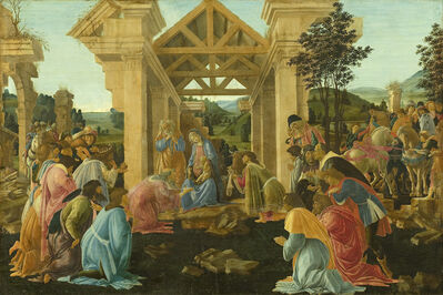 Sandro Botticelli, 'The Adoration of the Magi', ca. 1478-1482