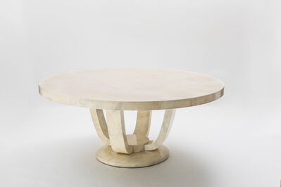Karl Spring LTD, 'Monumental Goatskin Dining Table', 2018