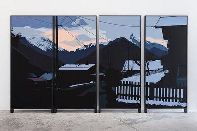 Alain Bublex, 'Paysage 144 Une après-midi japonaise', 2014