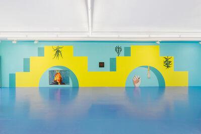 Claudia Martínez Garay, 'untitled (mural)', 2019