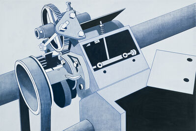 William Steiger, 'Blue Machine', 2008