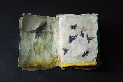 Tina Salvesen, 'Pages 98 and 99 from On the Wing', 2019
