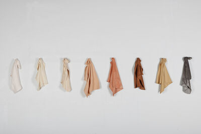 Juana Valdes, 'Auburn Color China Rags (Edition 2 of 3)', 2017
