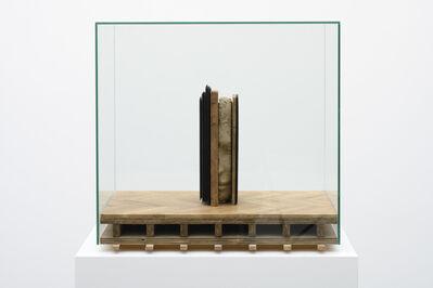 Mark Manders, 'Male Head on Wooden Floor'