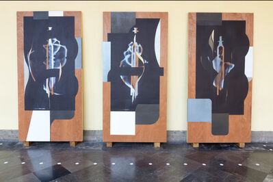 Omar Barquet, 'CO - RT - ES (Triptych)', 2019