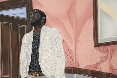 Toyin Ojih Odutola, 'Unclaimed Estates', 2017