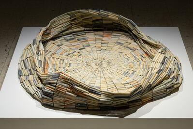 Nadia Myre, 'Untitled (Tobacco Barrel)', 2018