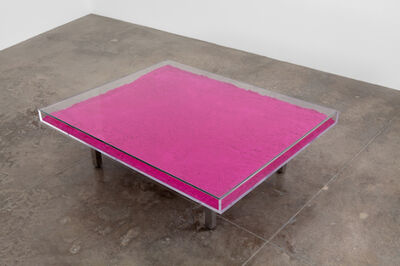 Yves Klein, 'Table Rose', 1963