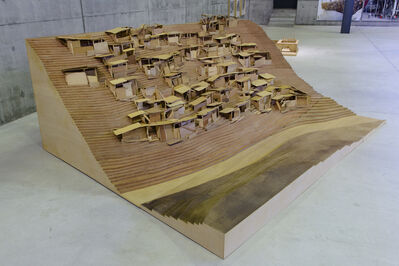 Tadashi Kawamata, 'Favelas in Houston, maquette 94', 1994