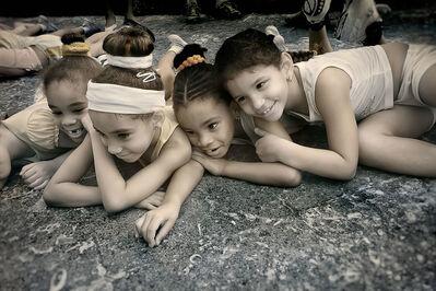 E.K. Waller, 'Girls on Ground', 2013