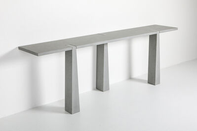 Angelo Mangiarotti, 'Post-modern Style 'Inca' Console Table by Angelo Mangiarotti, Skipper, Italy, 1978', 1978