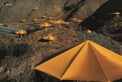 Christo, 'The Umbrellas, Japan-USA', 1984-1991