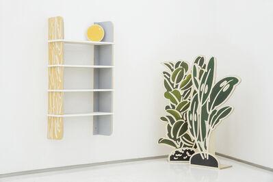 Lee Mijung, 'Unfriendly shelves, Flat-pack: gren plate series', 2018