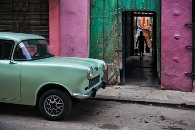 Steve McCurry, 'Russian Car Old Havana, Cuba', 2010