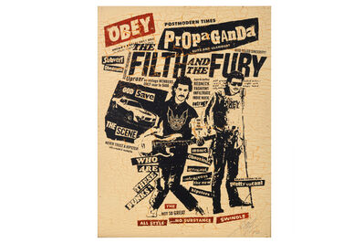 Shepard Fairey, 'The Filth and the Fury', 2006