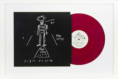 Jean-Michel Basquiat, 'The OFFS First Record', 2015