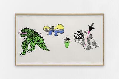 Niki de Saint Phalle, 'The Monster Dies', 1968