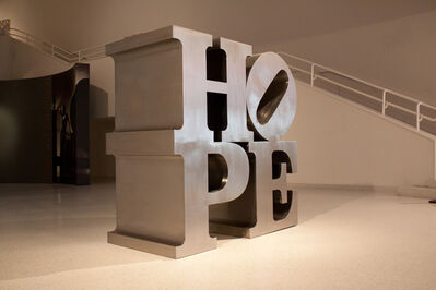 Robert Indiana, 'HOPE', 2009