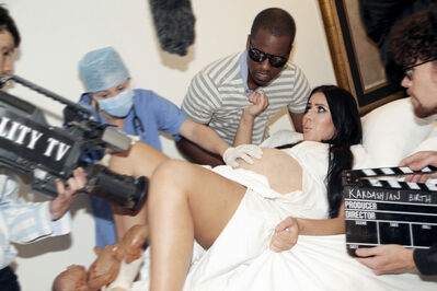 Alison Jackson, 'Reality TV Birth (This is not Kim Kardashian and Kanye West)', 2013