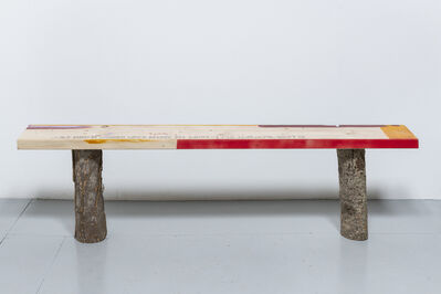 Alice Wilson, 'Bench (Support Structure)', 2019