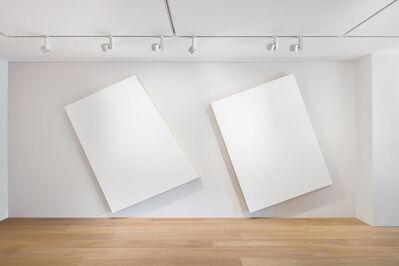 Imi Knoebel, '2-teilige weisse Konstellation (White constellation in two parts)', 1975/2006