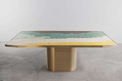India Mahdavi, 'Landscapes table #2', 2013