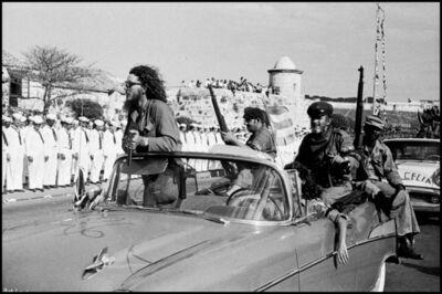 Burt Glinn, 'Revolutionaries in car', 1959