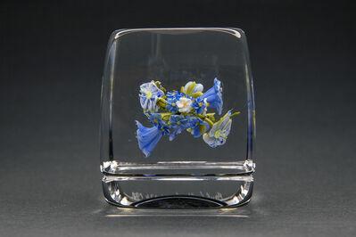 Paul Stankard, 'Blue Flower Botanical Paperweigh', 1