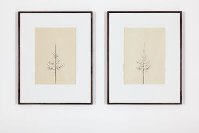 Peter Liversidge, 'Pair of Winter Drawings 16vs16 and 13vs22, 20 February 2013', 2013