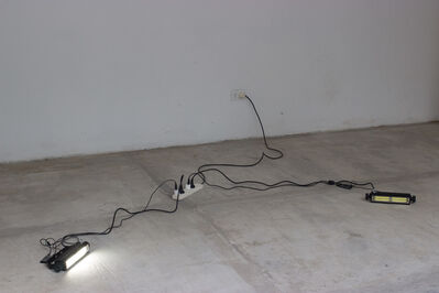 Nicolás Bacal, 'Untitled (Two flashes and two mp3) ', 2015