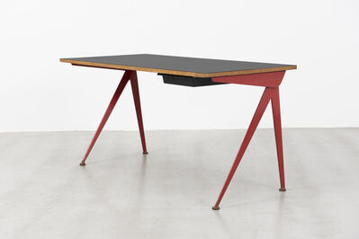 Jean Prouvé, 'Secretary desk with compas base', ca. 1953