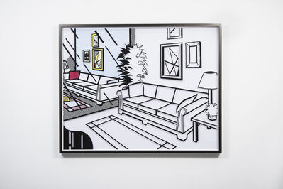 Jose Dávila, 'Untitled (Interior with Mirror)', 2019