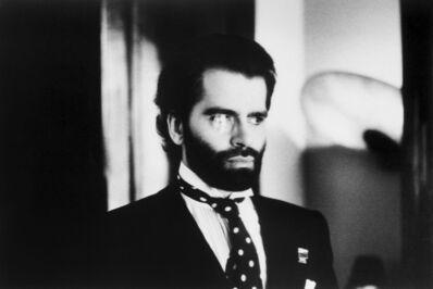 Helmut Newton, 'Karl Lagerfeld, Paris', 1973