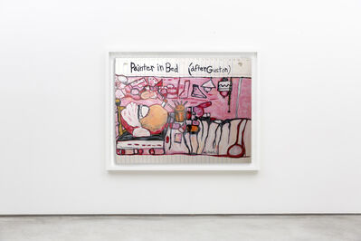 Michael Scoggins, 'Painter in Bed (After Guston)', 2020