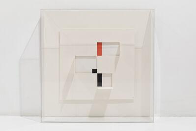 César Paternosto, 'Construcción en papel # 7', 2014
