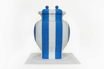anothermountainman (Stanley Wong), 'back to the future / redwhiteblue vase 4', 2006