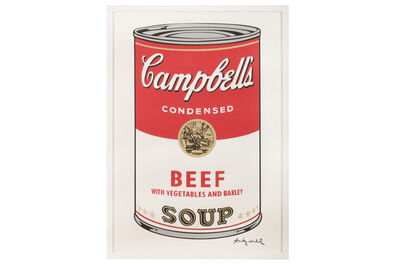 Andy Warhol, 'Campbell's Soup - Beef'