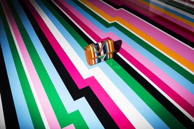 Landon Nordeman, 'Ferragamo (Stripes)', 2016