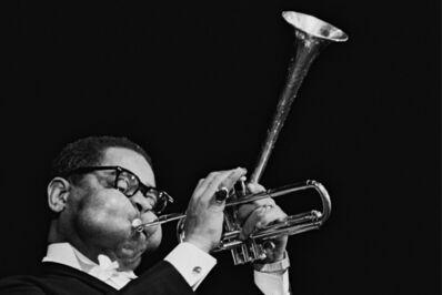 Hervé GLOAGUEN, 'Dizzy Gillespie, Olympia, 1965', 1965