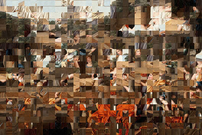 Rashid Rana, 'Scatter in Time III', 2018