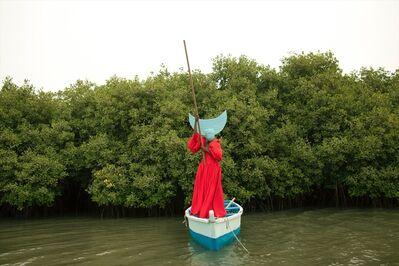 Keyezua, 'Sailing back to Africa as a Dutch Woman (2) Fortia Series', 2017