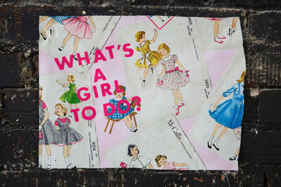 Ellen Kuntz, 'WHAT'S A GIRL TO DO?', 2020