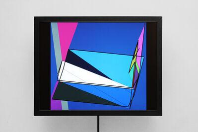 Manfred Mohr, 'P-777-mbb', 2000