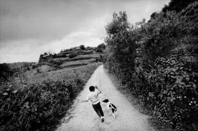 Matt Black, 'A boy plays with his dog. San Miguel Cuevas, Mexico.', 2006