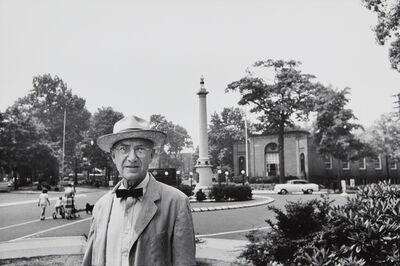 Elliott Erwitt, 'William Carlos Williams, Paterson, New Jersey', 1955