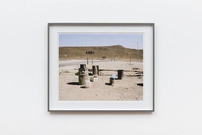 David Goldblatt, 'Entrance to Lategan's Truck Inn, In the time of Aids, Laingsburg. Western Cape. 14 November 2004', 2004